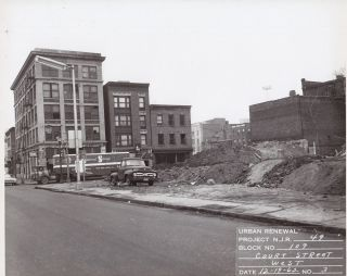 Photo Album Documenting the Hill Street Urban Renewal Project.