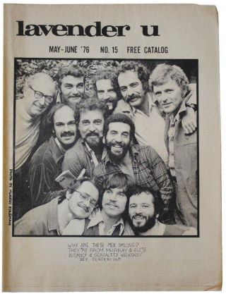 Lavender U. May-June '76. No. 15. Kevin Burke, Murray Edelman