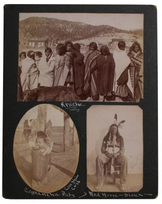 Small Collection of Outstanding Native American Photographs.