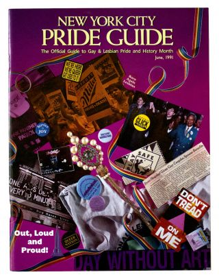 New York City Pride Guide: The Official Guide to Gay & Lesbian Pride & History Month