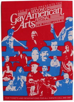 The Glines Presents the Second Gay American Arts Festival
