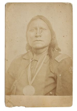 Photograph of Satanta (a/k/a Set'tainte or White Bear), Kiowa War Chief