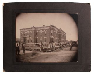 Early Photograph of the Woodson Hotel