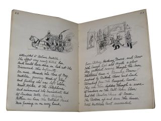 Manuscript Copy of Belloc's Cautionary Tales for Children. Hilaire Belloc.