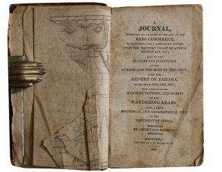 Slave Trade][Africa] a Journal, Comprising an Account of the Loss of the Brig Commerce . ....
