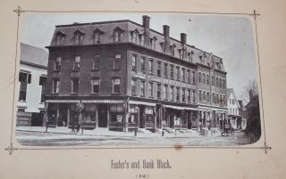 19th Century Photo Album of Leominster, Massachusetts.