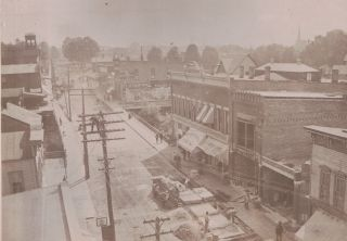 Union City Pennsylvania Turn-Of-The-Century Small Town Photo Album.
